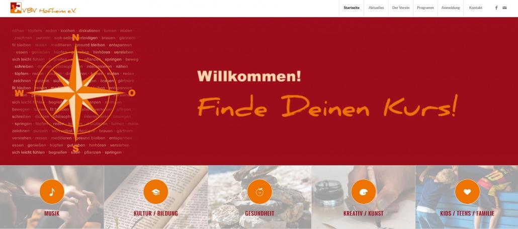 Willkommen auf unserer neuen Webseite!